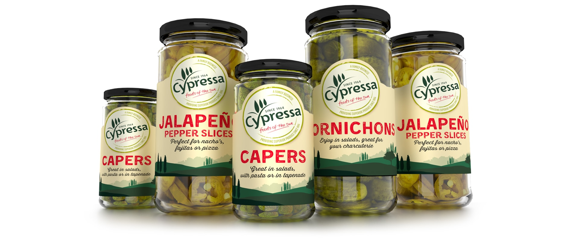 Cypressa Pickles - Slice Design branding and packaging design