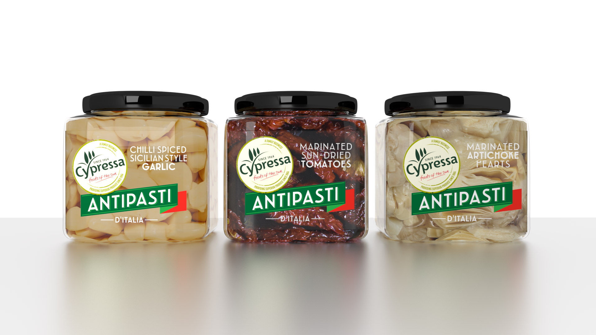 cypressa antipasti - Slice Design branding and packaging design