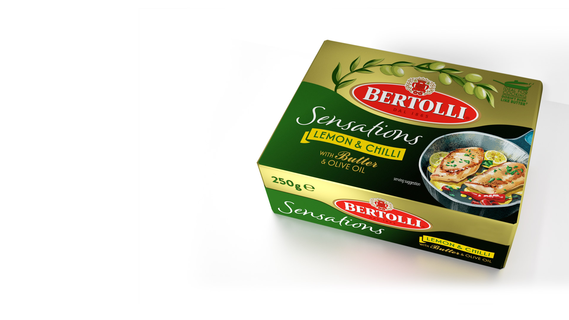 Bertolli Sensations packaging design by Slice